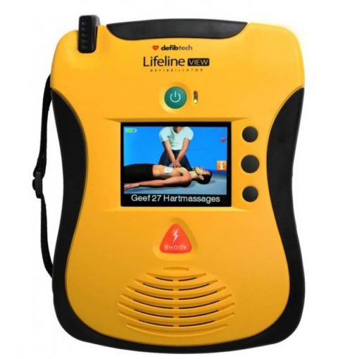 Defibtech Lifeline view AED. Voor bedrijf & buurt!