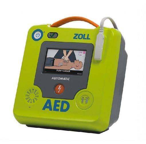 Zoll 3 AED startscherm