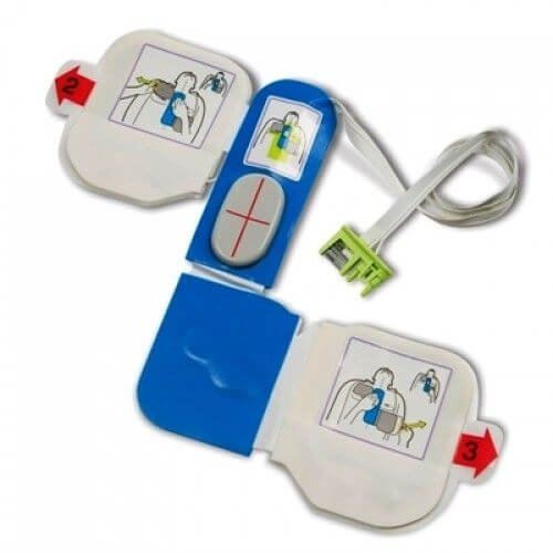 Zoll CPRD elektroden kopen voor AED zoll plus en zoll pro.