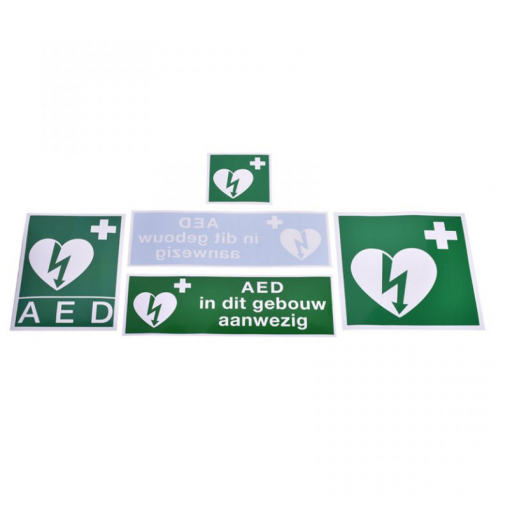AED + Stickerset