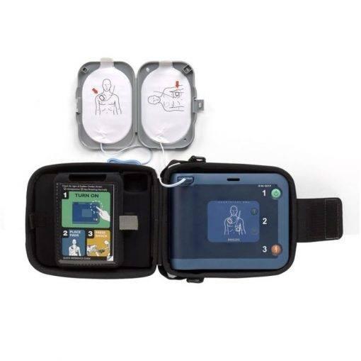 Philips HeartStart FRx AED binnenzijde