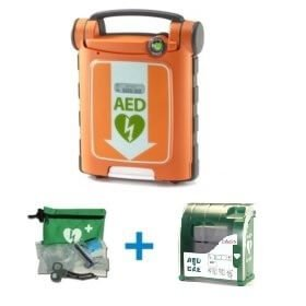 Cardiac Science AED met Buitenkast