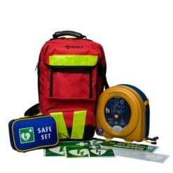 AED kopen: Heartsine AED flexibelpakket kopen (350P of 360P) + rugtas