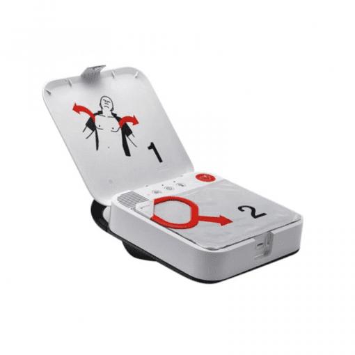 Physio Control Lifepak CR2 AED binnenzijde