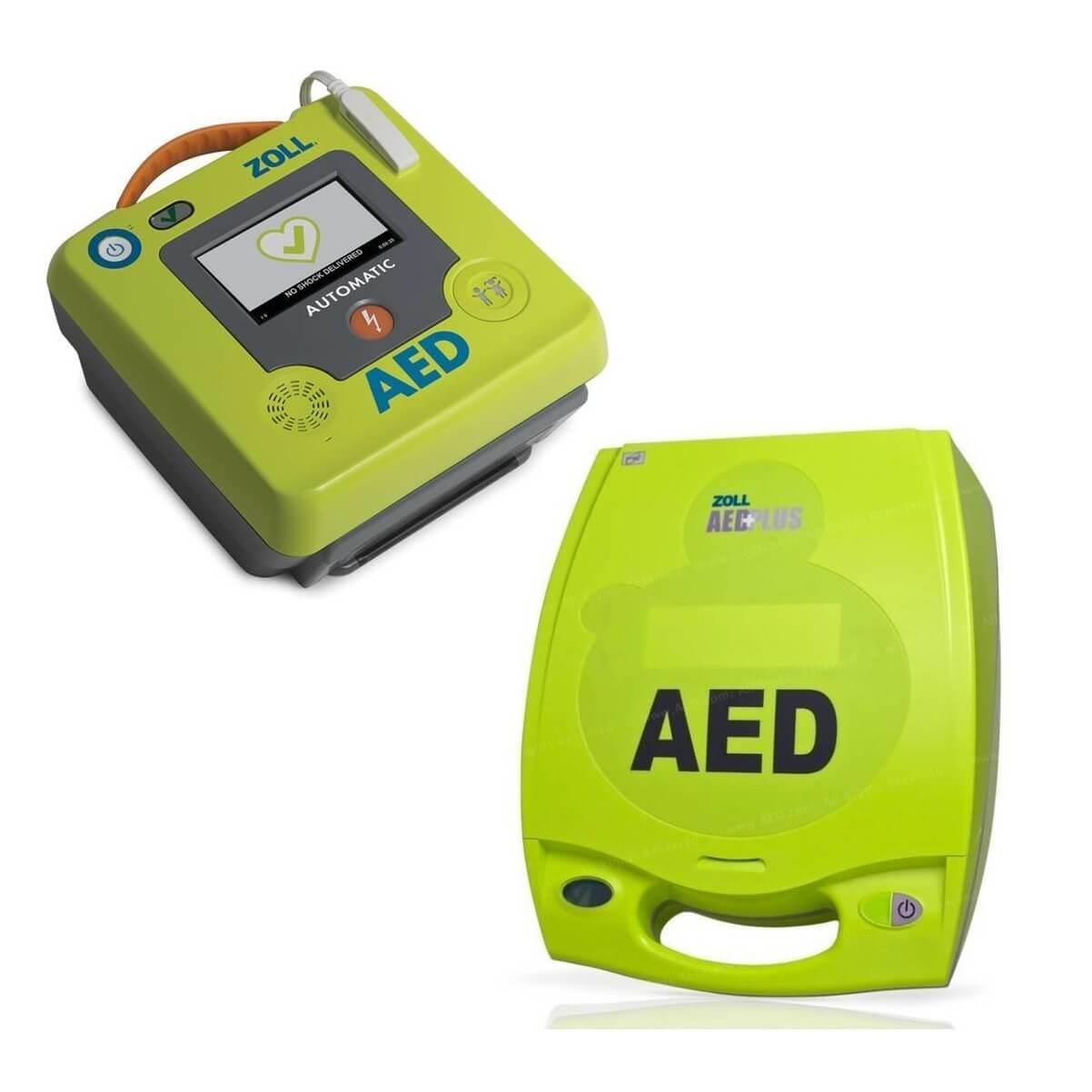 AED merk Zoll (AED Plus en AED 3