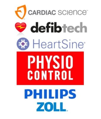 AED kopen: aed merken AED Cardiac Science, AED Defibtech, AED Heartsine, AED Physio Control, AED Philips, AED Zoll