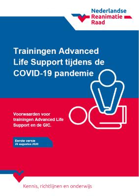 AED trainer veilig gebruiken bij COVID-19