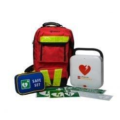 Physio Control Lifepak CR 2 AED flexibel aed pakket